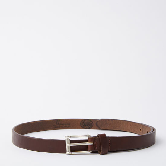Roots - Womens Thin Belt  Horween