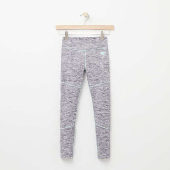 Roots-Kids Bottoms-Girls Dover Legging-Charcoal Mix-A