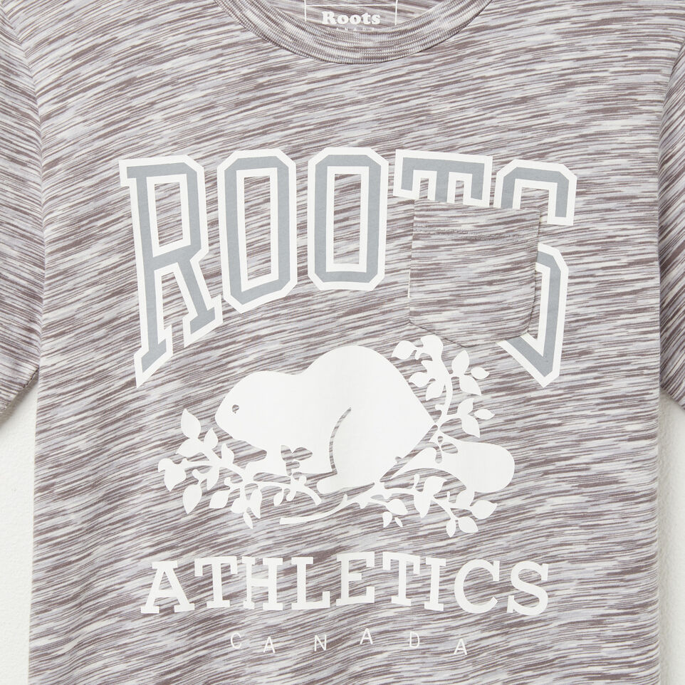 Roots-undefined-T-shirt Poche Molleton Rba-undefined-C