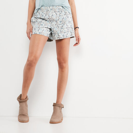 Roots-Women New Arrivals-Printed Day Tripper Short-Infinity-A