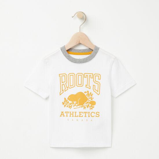 Roots-Kids Toddler Boys-Toddler RBA T-shirt-White-A