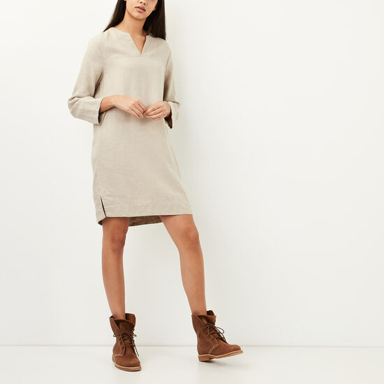 Roots-Women Bestsellers-Telkwa Dress-Natural-A