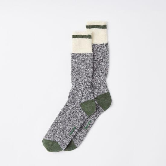 Roots - Mens Pop Cabin Sock 2 Pack