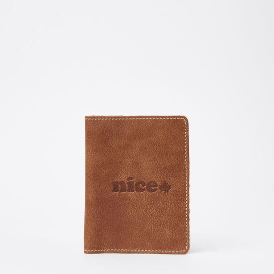Roots-Leather Nice™-Nice Passport Holder Tribe-Africa-A