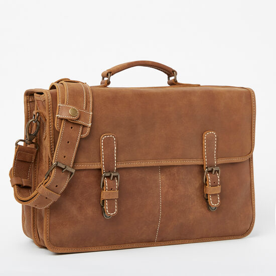 Roots-Leather Features-Roots Original Briefcase Tribe-Africa-A