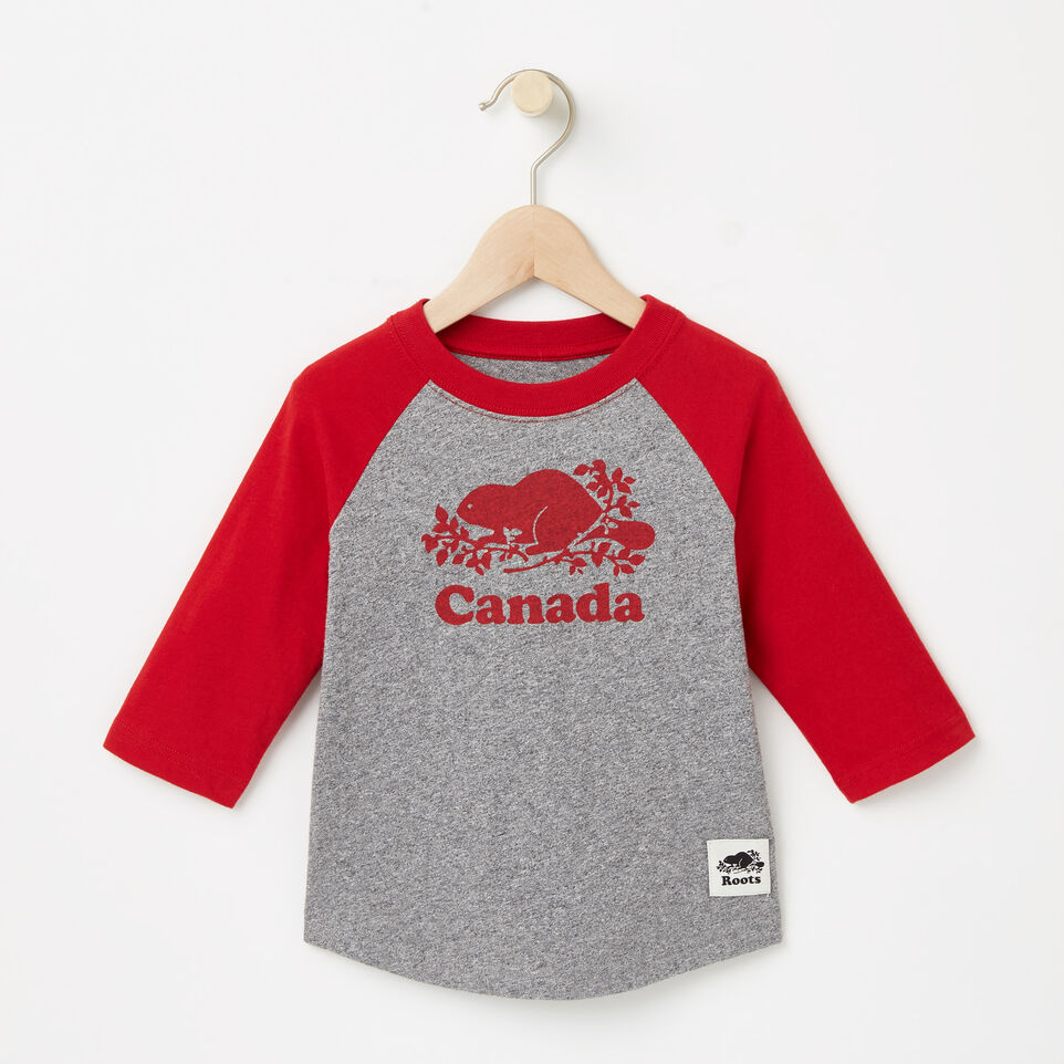 Roots-undefined-Tout-Petits T-shirt Baseball Canada-undefined-A