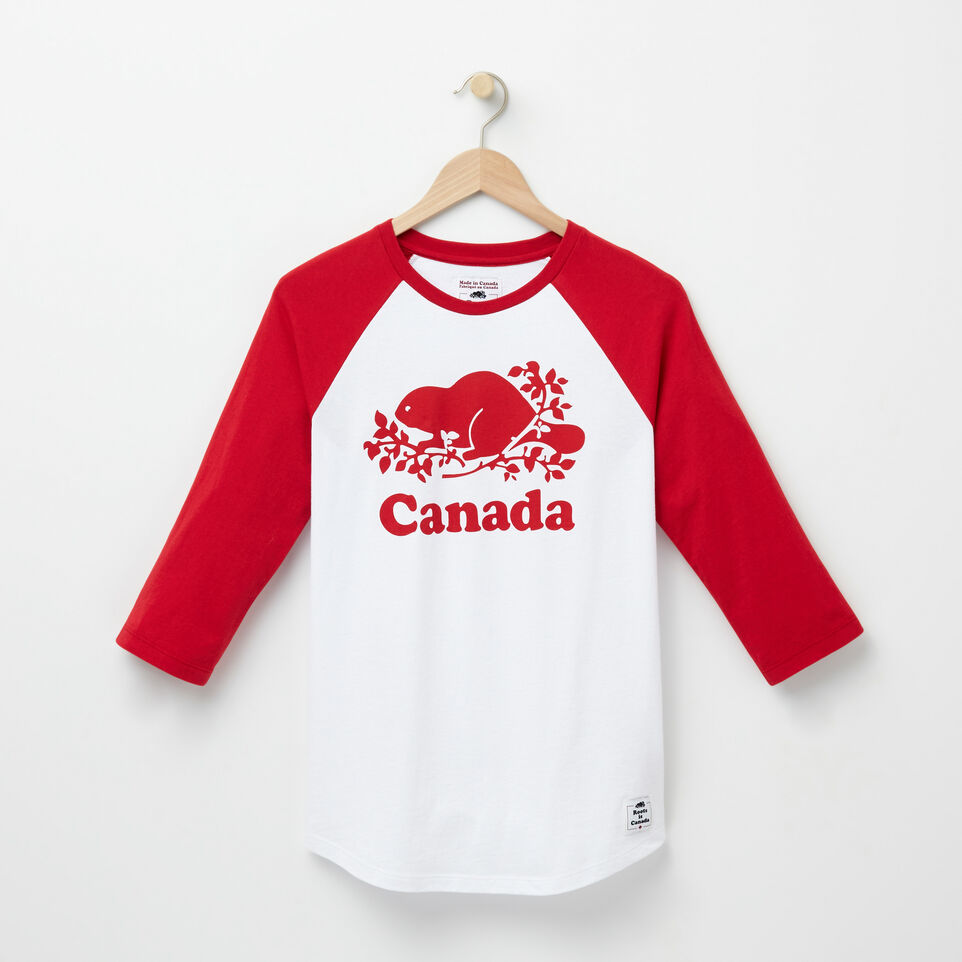Roots-undefined-T-shirt Baseball Cooper Canada-undefined-A