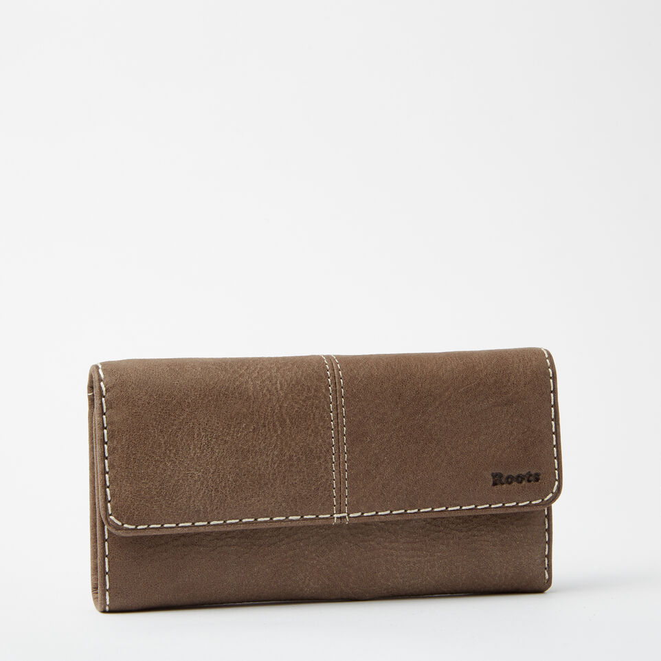 Roots-undefined-Medium Trifold Clutch Tribe-undefined-D
