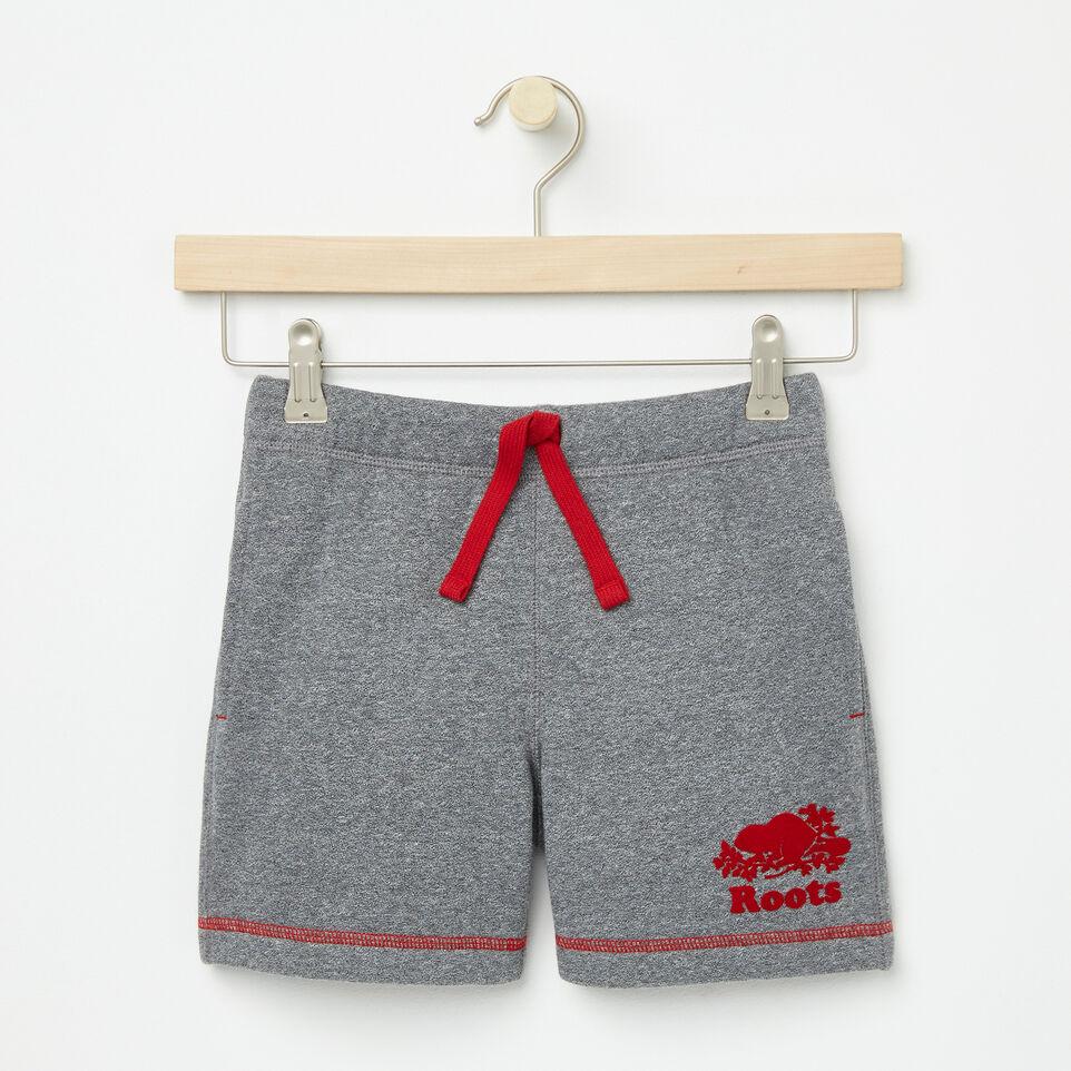 Roots-undefined-Filles Short Coton Ouaté Cooper Canada-undefined-A
