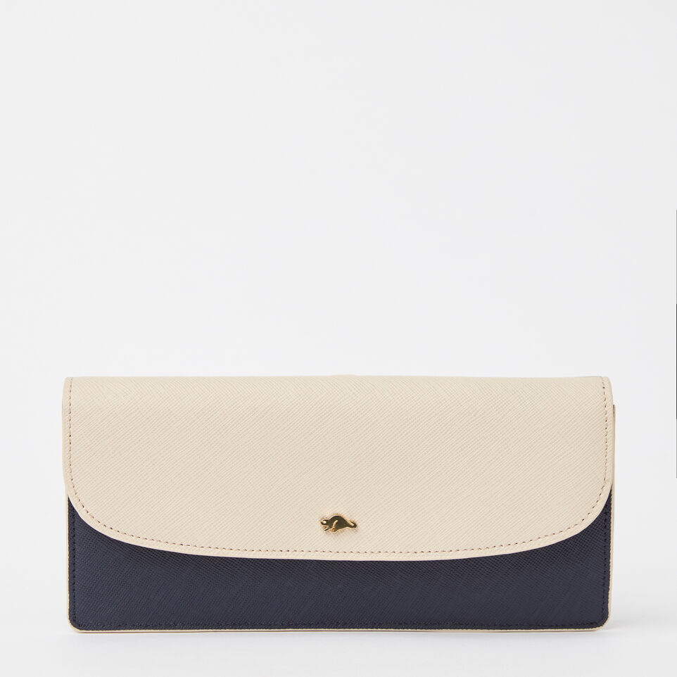 Roots-undefined-Slim Curve Wallet Saffiano-undefined-A