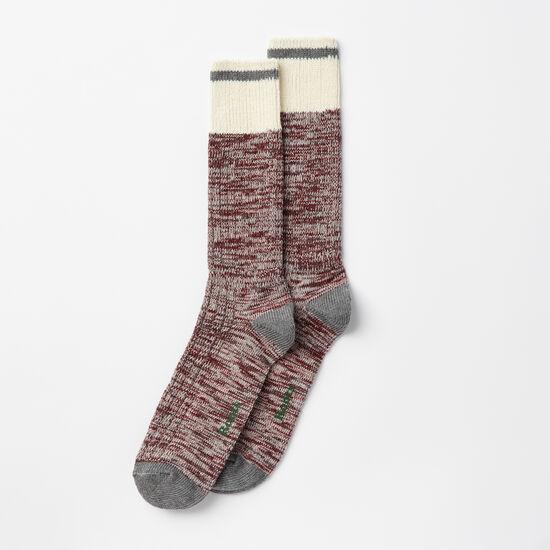 Roots-Men Socks-Mens Park Sock 2 Pack-Macintosh-A