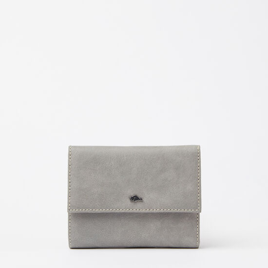 Roots-Leather Wallets-Kelly Wallet Tribe-Quartz-A