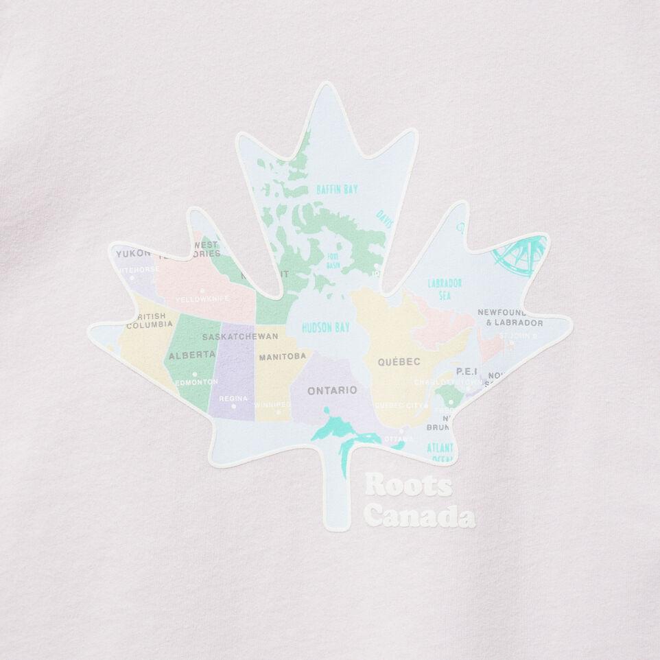 Roots-undefined-Filles T-shirt Côtier Feuille D'érable-undefined-C