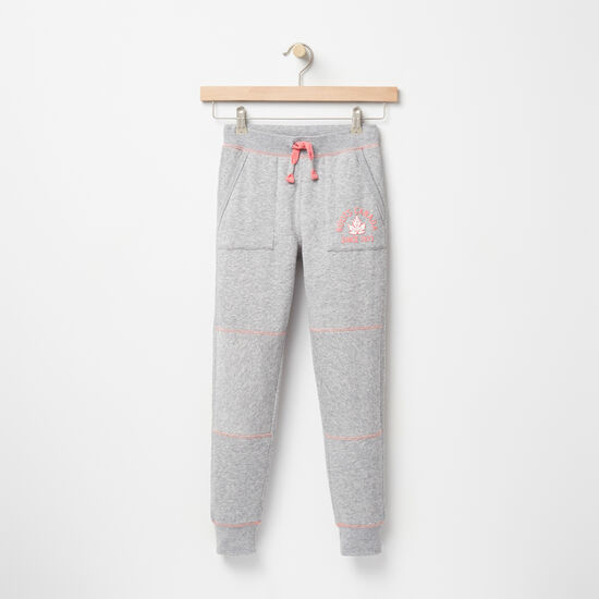 Roots-Kids Bottoms-Girls Westport Bottom-Grey Mix-A
