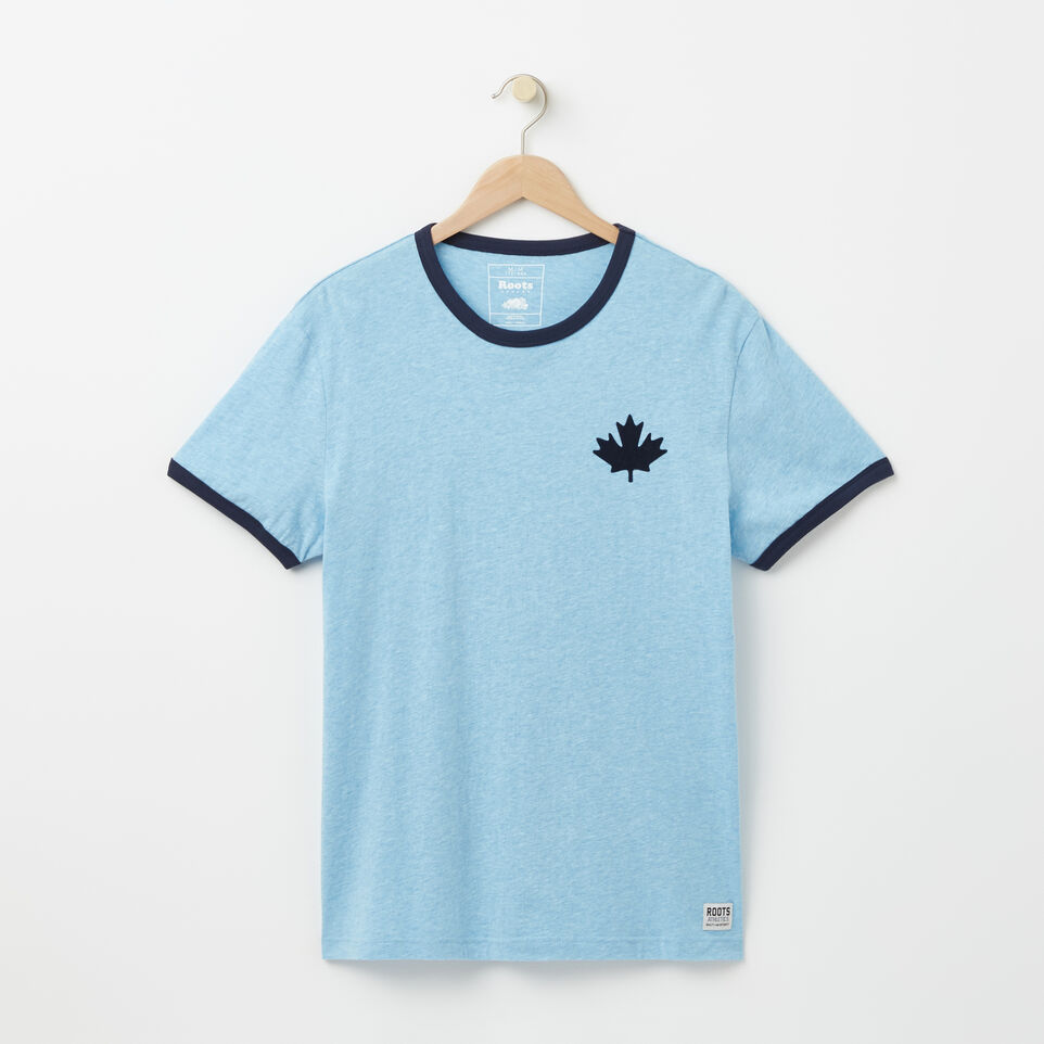 Roots-undefined-T-s Col Contrast Camp Canada-undefined-A