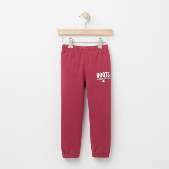 Roots-Kids Features-Toddler Roots Re-issue Sweatpant-Beaujolais-A
