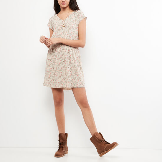 Roots-Women New Arrivals-Katrine Dress-Almond Milk-A