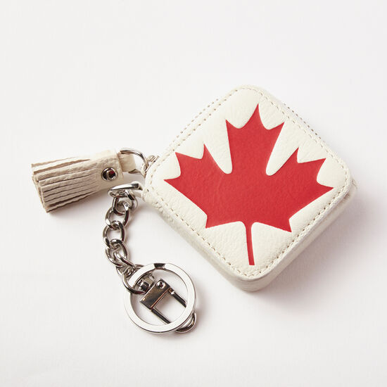 Roots - Canada Flag Key Chain Pouch Prince
