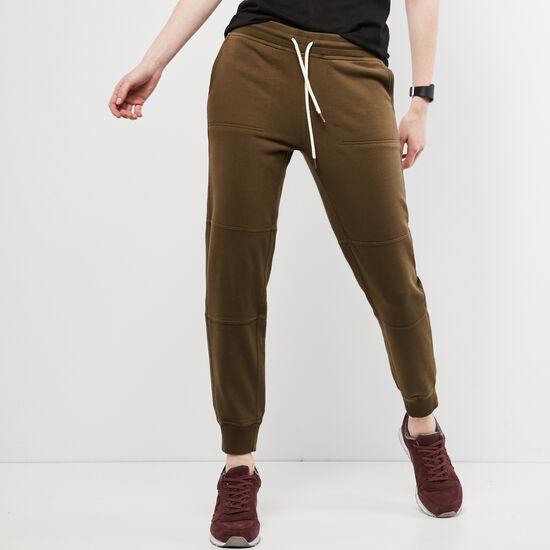 Roots-Women Slim Sweatpants-Westport Sweatpant-Dark Olive Green-A