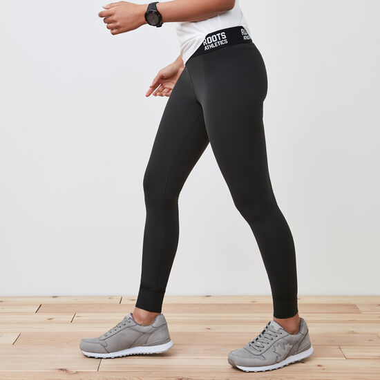 Roots-Women Active-New Isabella Legging-Black-A