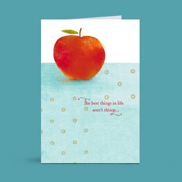 Say thanks to the teachers in your life with a Hallmark card.