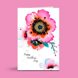 A Mother's Day card is a great way to tell Mom how much she is loved.