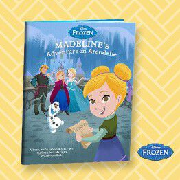 Make your child the star of this Frozen kids book.