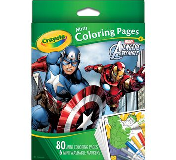 Avengers Mini Coloring Pages