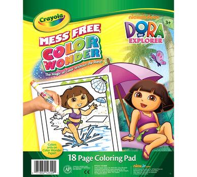 Color Wonder Coloring Pad - Dora the Explorer