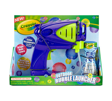 Powered Bubble Launcher