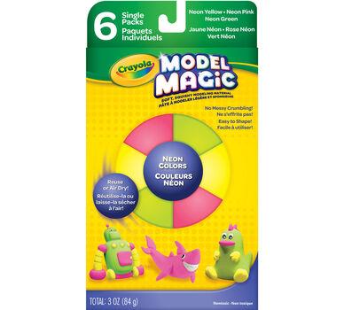Neon Model Magic Assorted 6-Pack