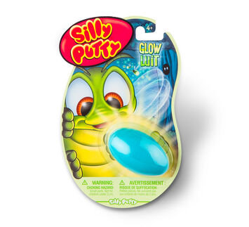 Silly Putty Glow in the Dark - Blue