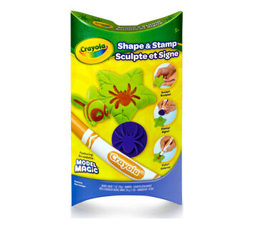 Model Magic Shape and Stamp Spider