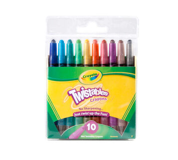 Mini Twistable Crayons 10 ct.