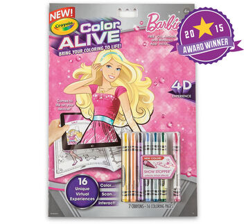 Color Alive - Barbie