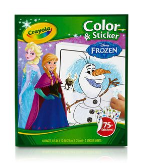 Color and Sticker Book - Frozen