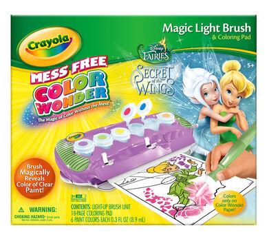 Color Wonder Magic Light Brush Fairies Crayola