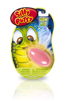 Silly Putty Glow in the Dark - Pink