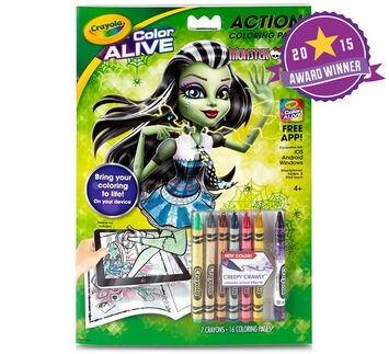 Color Alive - Monster High