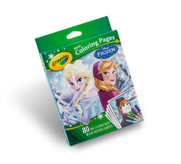 Mini Coloring Pages - Frozen