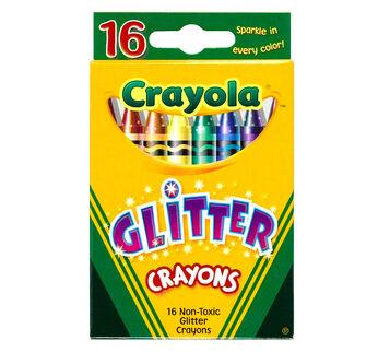 Crayola Glitter Crayons 16 ct.