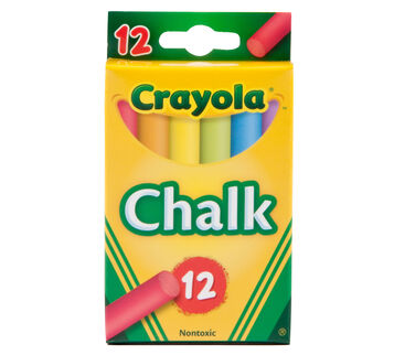 Multi-Colored Childern's Chalk 12 ct.
