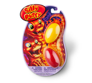 Silly Putty 2ct Variety Pack - Yellow/Red