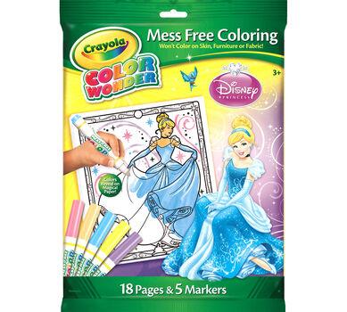 Color Wonder Coloring Pad & Markers - Disney Princess