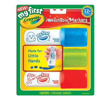 My First Crayola Easy Grip Washable Markers