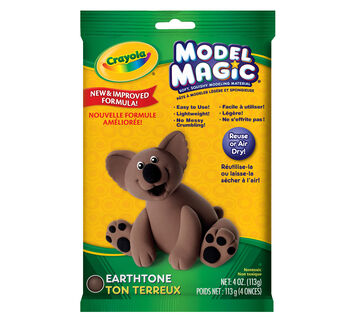 Model Magic 4-oz. Pouch of Earthtones