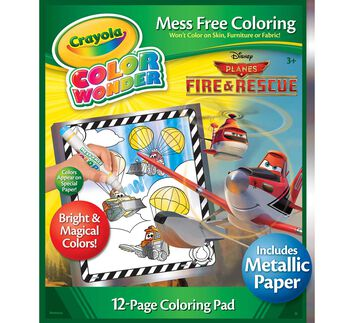 Color Wonder Coloring Pad Disney Planes with Metallic Paper