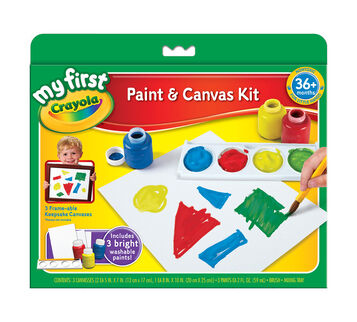 Framable Paint Canvas Creations - Build Dexterity