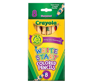 Write Start Colored Pencils 8 ct.