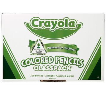 240 Count Colored Pencils Classpack, 12 Colors